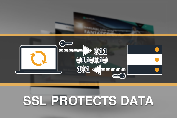 SSL Protects user data